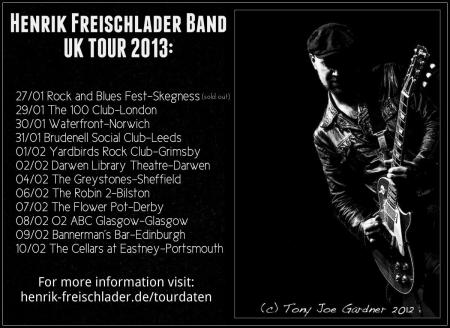 Henrik Freischlader on tour